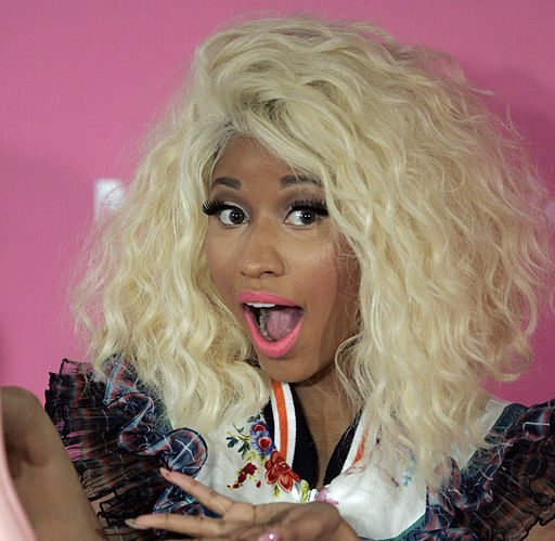 Nicky Minaj indicates that she's now a married women