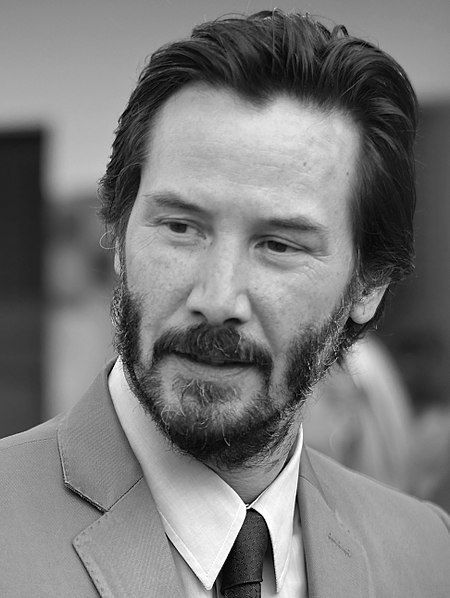 Keanu Reeves (crop and levels) (cropped)